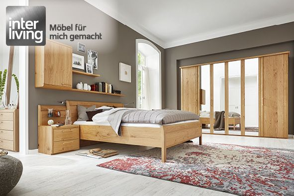 Elegant Interliving 1001 Schlafzimmer Wildeiche ...